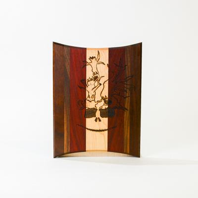 Nicholas Mallow cutting board (happy wood)