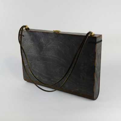 Jean Cherouny Laser Wood Bag